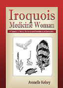 Book Cover Prints - Iroquois Cover Art Print by Nola Lee Kelsey