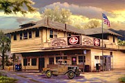 Pick Up Digital Art Posters - Irvine Country Store Poster by Ronald Chambers