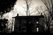 Haunted House Prints - Is Anybody Home Print by Off The Beaten Path Photography - Andrew Alexander