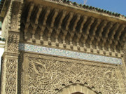 Carved Tile Posters - Islamic Architecture Poster by Erik Falkensteen