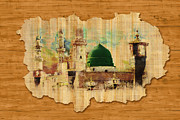 Namaz Paintings - Islamic Calligraphy 040 by Catf