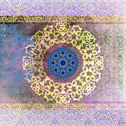 Arabic Prints - Islamic Motive Print by Corporate Art Task Force