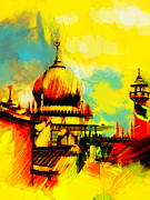 Saudia Paintings - Islamic Painting 001 by Catf