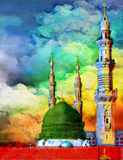Saudia Paintings - Islamic Painting 009 by Catf