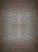 Beautiful Islamic Art Framed Prints - Islamic wooden texture Framed Print by Antony McAulay