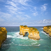 Great Art - Island Arch Loch Ard Gorge by Colin and Linda McKie