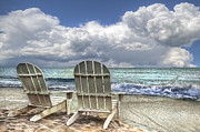 Relaxing Photo Prints - Island Attitude Print by Debra and Dave Vanderlaan