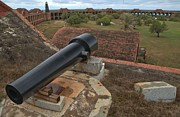 Fort Jefferson Metal Prints - Island Defense Metal Print by Adam Jewell