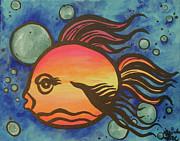 Island Fish Print by Lorinda Fore