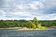 Georgian Landscape Photos - Island in Georgian Bay by Elena Elisseeva