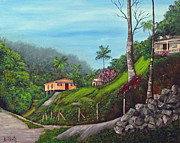 Gloria E Barreto-Rodriguez - Island Mountains