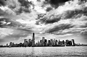 Storm Prints Prints - Island of Manhattan 2013 Print by John Rizzuto