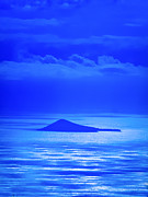 Blue Art Photo Prints - Island of Yesterday Print by Christi Kraft