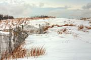 Island Snow Print by JC Findley
