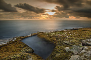 Top Seller Framed Prints - Island Sunset Framed Print by Tin Lung Chao