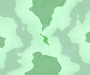 Green Oil Paintings - Islands by Stefan Kuhn