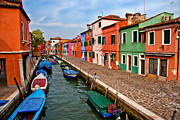 Burano Prints - Isle of Burano Print by Peter Tellone