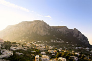 Italian Landscapes Photo Framed Prints - Isle Of Capri In The Sun Framed Print by Mark E Tisdale