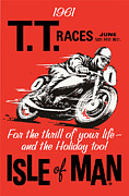 Featured Art - Isle of Man Race by Gary Grayson