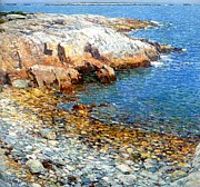 Frederick Digital Art Prints - Isles of Shoals Print by Frederick Childe Hassam