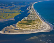 Blue Green Wave Photos - Isolated Luxury by Betsy A Cutler East Coast Barrier Islands