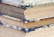 Torn Photo Framed Prints - Isolated Old Books Framed Print by Michal Boubin