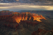 North Rim Prints - Isolated Print by Peter Coskun