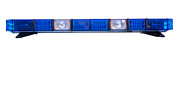 Police Cruiser Art - Isolated Police Emergency Light Roof Bar by Fizzy Image