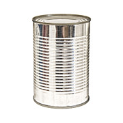 Grocery Store Prints - Isolated Tin Can Print by Antony McAulay