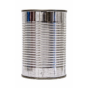 Grocery Store Prints - Isolated Tin Can front Print by Antony McAulay