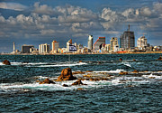Tel Aviv Prints - Israel full power Print by Ron Shoshani
