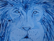 Lion Paintings - Israel Is Forever by Rachael Pragnell