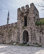 Byzantine Framed Prints - Istanbul City Wall 05 Framed Print by Antony McAulay