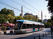 Divan Framed Prints - Istanbul Tram 01 Framed Print by Rick Piper Photography