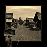 Barkerville Photos - It is a Sign by Barbara St Jean