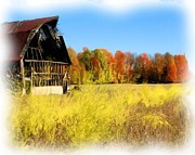 Old Barn Mixed Media - It is ending soon by Bob Newland