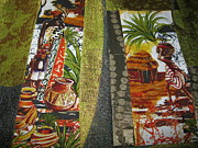Featured Tapestries - Textiles Originals - It Takes a Village by Edjohnetta Miller