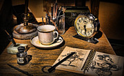 Modern World Photography Art - It Was All Started By A Mouse - Walt Disneys Desk by Lee Dos Santos