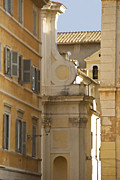 Historic Home Photo Metal Prints - Italian Architecture Metal Print by Juli Scalzi