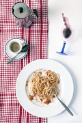 Noodles Photo Prints - Italian Food Print by Joana Kruse