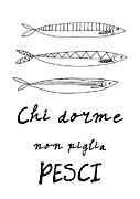 Patruschka Hetterschij - Italian Kitchen Fish Art