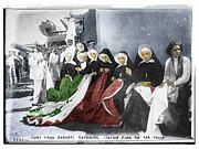 Italian Nuns Print by Tony Rubino