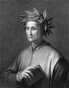 Italian Poet Dante Alighieri Print by Underwood Archives