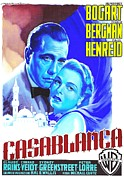 Film Mixed Media - Italian poster of Casablanca by Art Cinema Gallery