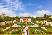 Visitors Prints - Italian Renaissance Garden Hamilton Gardens New Zealand Print by Colin and Linda McKie