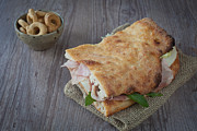Italian Meal Photo Prints - Italian sandwich Print by Sabino Parente