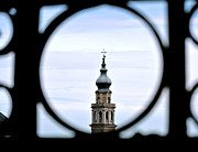 Sarah Christian Framed Prints - Italian Steeple Framed Print by Sarah Christian