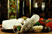 Balsamic Vinegar Art - Italian Still Life by Karin Hildebrand Lau