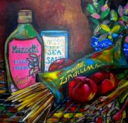 Italian Kitchen Paintings - Italian Still by Patti Schermerhorn