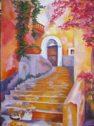 Lisa Boyd - Italian Village Staircase